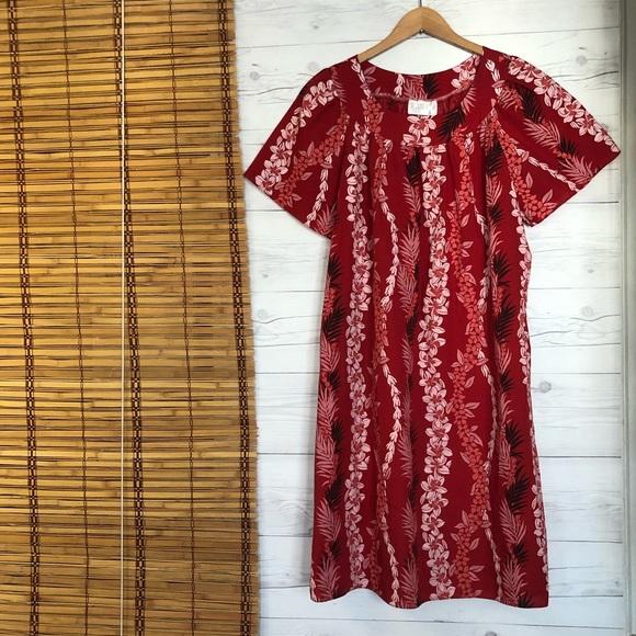Medium Vintage Hawaiian Mu-mu